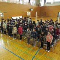 卒業式の練習開始!