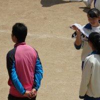 体育の授業(陸上)
