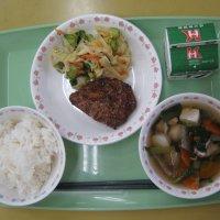 今日の給食は日本の味巡りで神奈川県です。