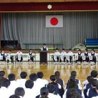 生徒会総会が行われました。