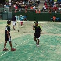 男子ソフトテニス部 関東大会 個人戦