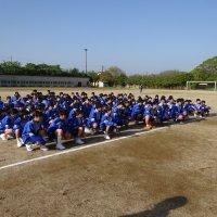 牛久市中学校陸上競技大会練習