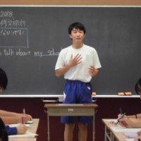 英語でスピーチ