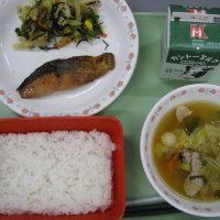牛久食材:米・白菜・ねぎ・豆腐・味噌