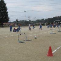 体育で「ボールけり遊び」