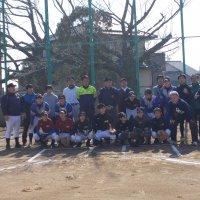 野球部対PTAチームの親善試合を行いました