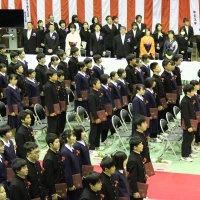 第40回卒業証書授与式