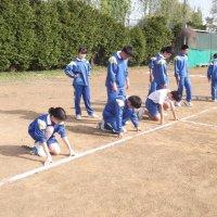 陸上競技大会練習