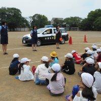 交通安全教室が行われました。