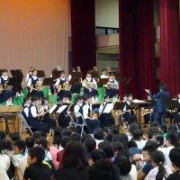 下根中学校吹奏楽部による演奏会