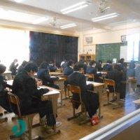 県の学力診断テストが行われました