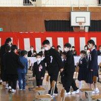 初々しさ溢れる入学式 ~元気・本気・根気~
