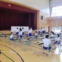 本日の授業研修会(2年)