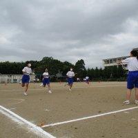 体育祭に向けての練習が始まりました!