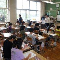 教育実習生の研究授業が行われました