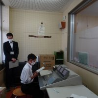 放送による1学期終業式・2学期始業式が行われました。