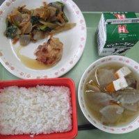 牛久食材:米・ヤーコン・人参・小松菜・ごぼう・さつまいも・ねぎ・河童大根・豆腐・味噌・塩麹