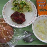 今日の給食(北校舎)