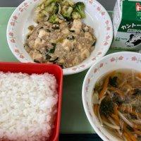 麻婆豆腐も人気です!