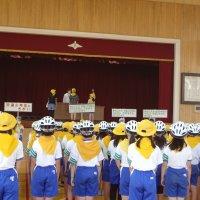 5年生,交通少年団入団式