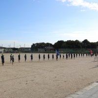 体育祭の練習が始まりました。