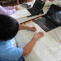 ICTを活用した図工授業