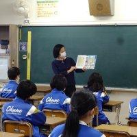 教員による読み聞かせ
