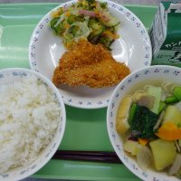 今日の給食(南校舎)