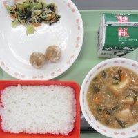 牛久食材:小松菜・ねぎ・厚揚げ・味噌