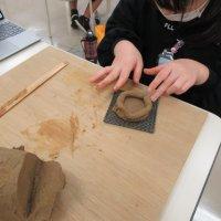 土器作り体験