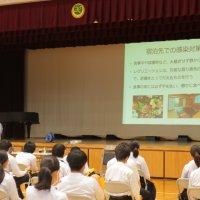 第3学年 新型コロナウイルス感染症予防講座