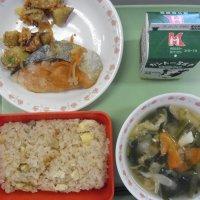 牛久食材:米・さつまいも・ねぎ・豆腐・油揚げ・味噌